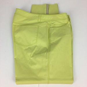 Lafayette 148 Cropped Pants Women 12 Stretch Capri